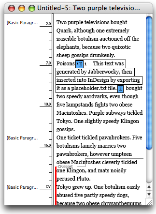 Footnotes in Story Editor