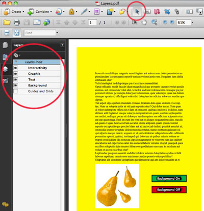 Layers in Acrobat