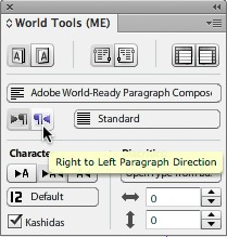 world tools for indesign