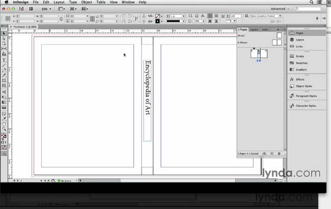 How To Make A Book Cover Using Illustrator : Indesign secrets video laying out a book cover