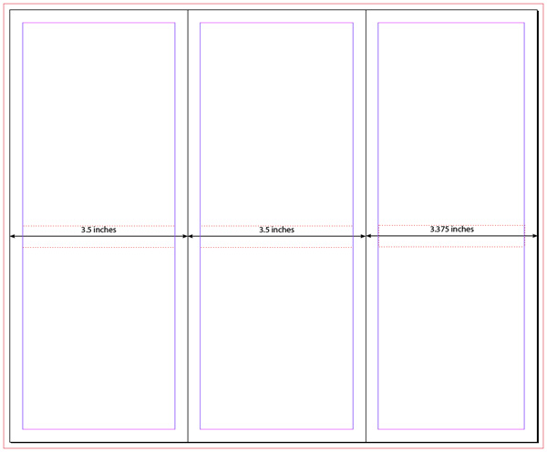 indesign tri fold brochure templates koni polycode co
