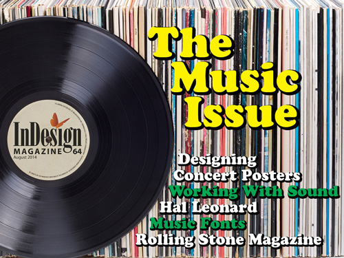 InDesign Magazine issue 64: The Music Issue