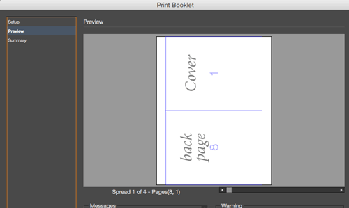 creating a pdf from indesign s print booklet feature