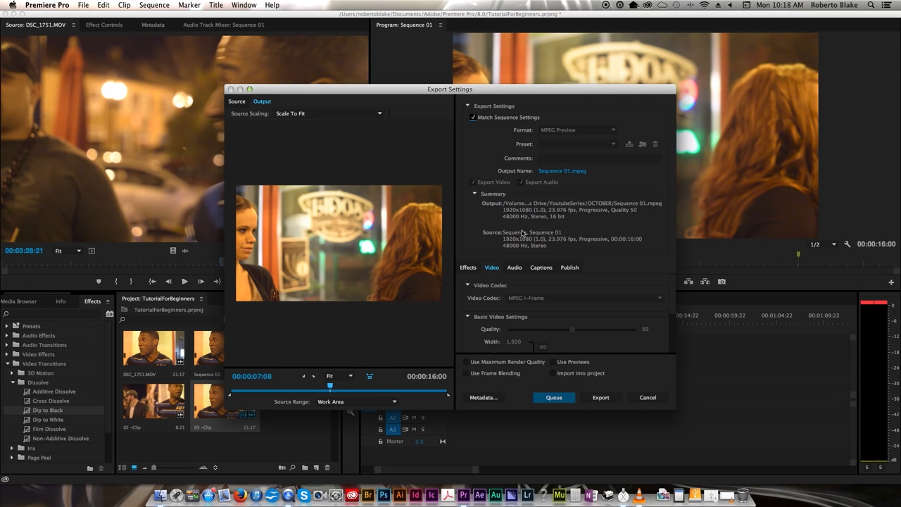 how to start editing in premiere pro
