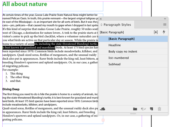 3 Ways to Change the Default Font in InDesign (Don't Edit [Basic