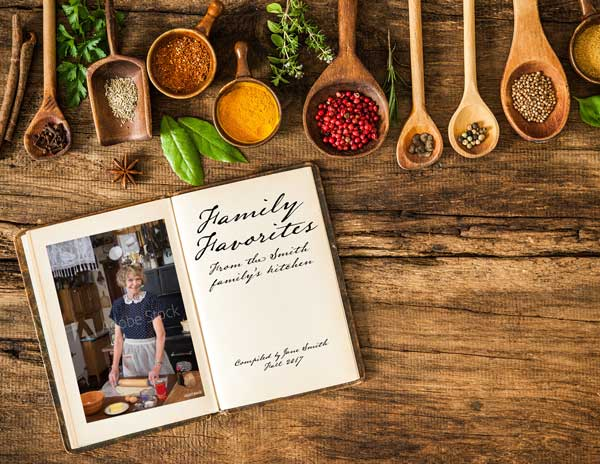 Indesign Template Of The Month Cookbook  IndesignsecretsCom