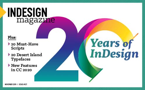 InDesign Magazine issue 127: InDesign at 20