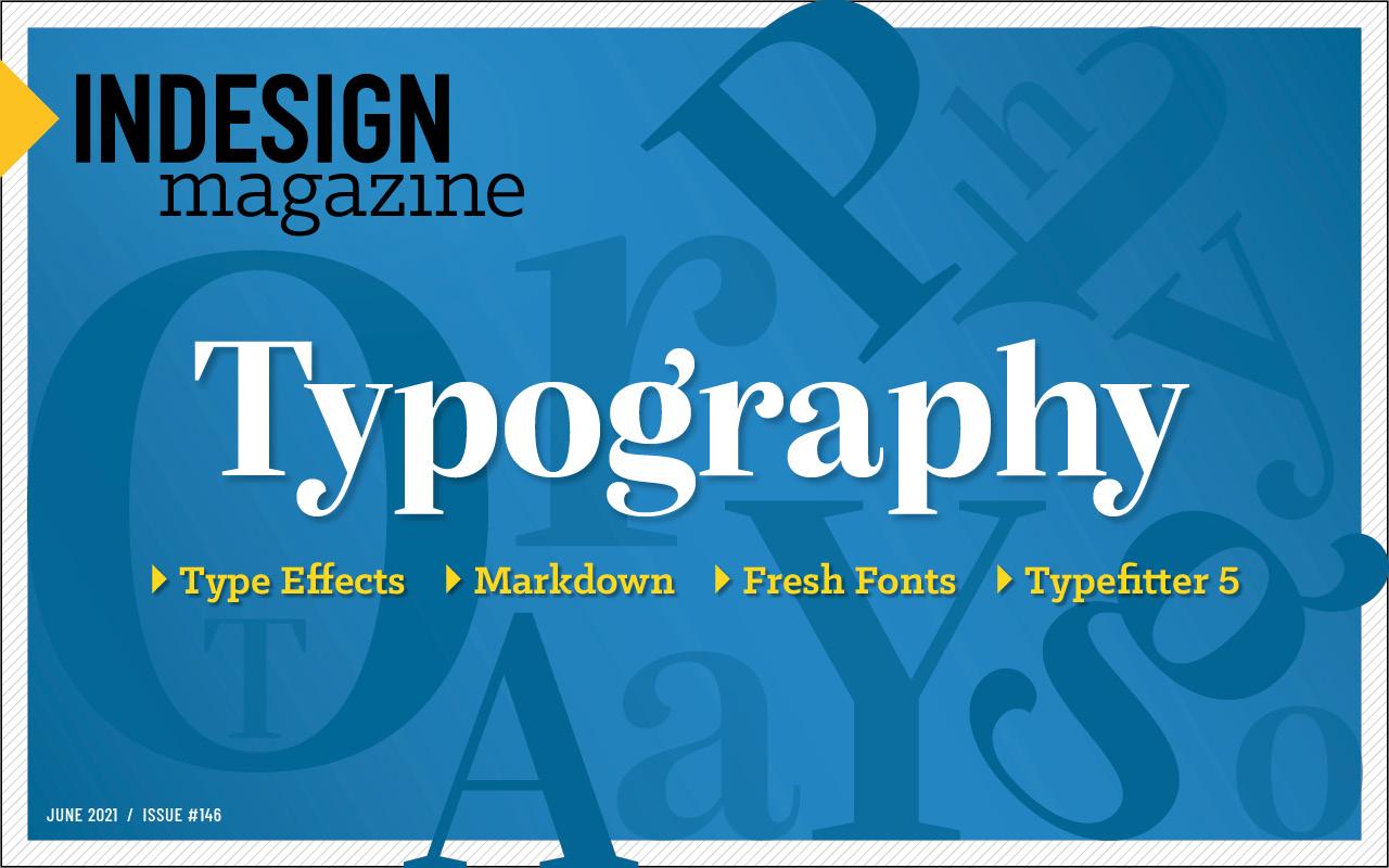 InDesign Magazine Issue 146 cover