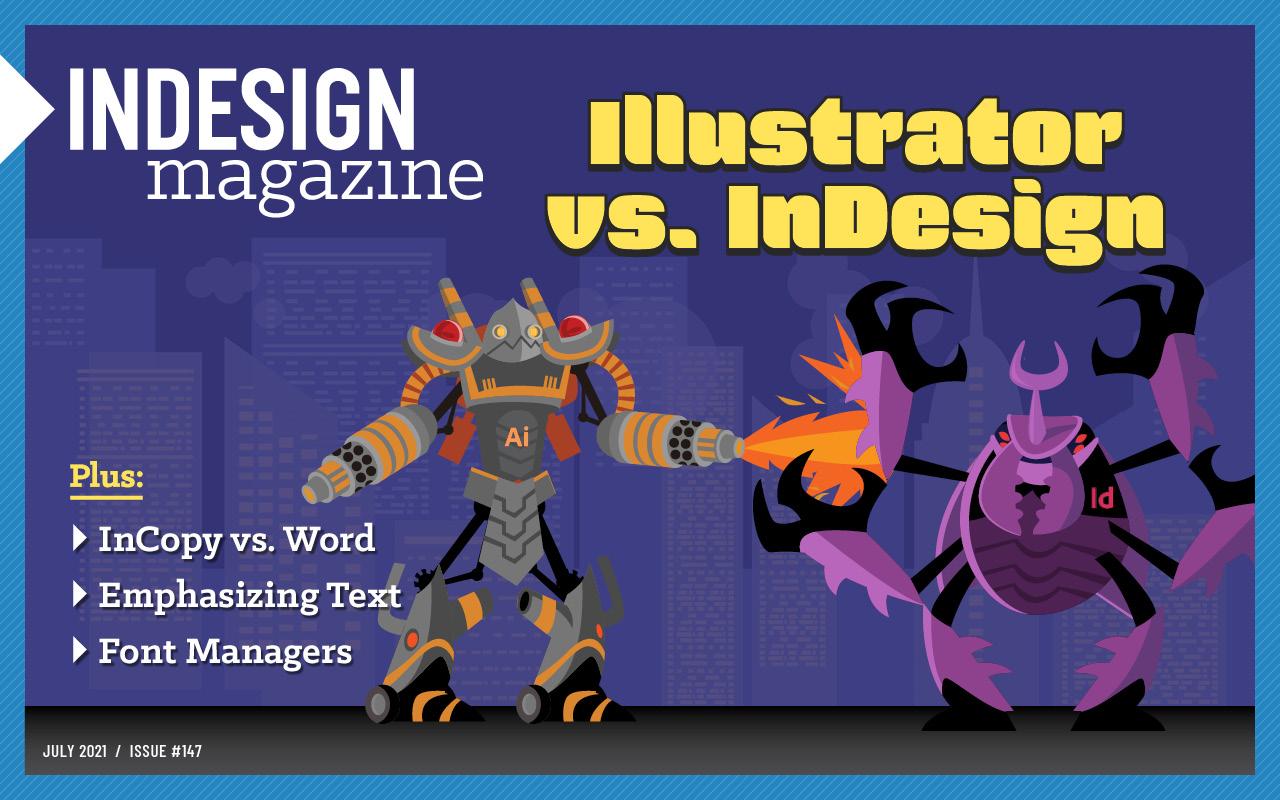 InDesign Magazine Issue 147 cover