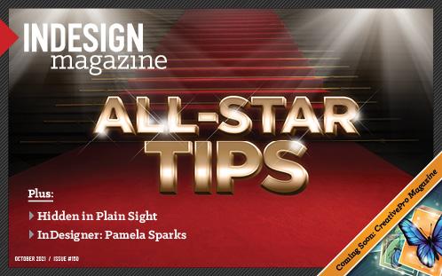 InDesign Magazine issue 150 cover