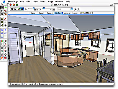 Dip Into Sketchup For Easy 3d